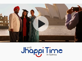 Jhappi Time in Sydney (Video 1)